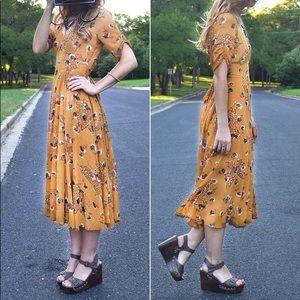 Free People Bonnie Butterfly dress